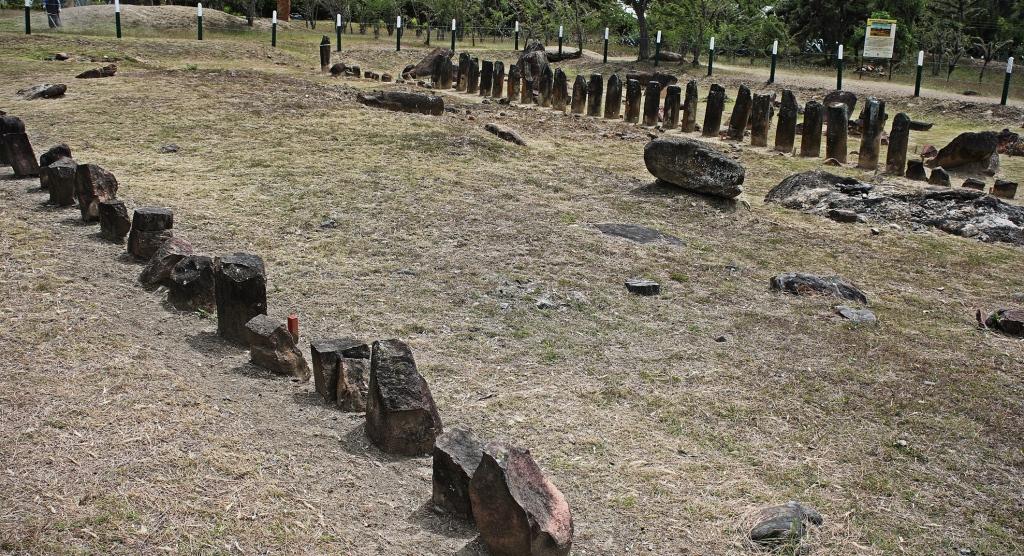 El Infiernito astronomical stones