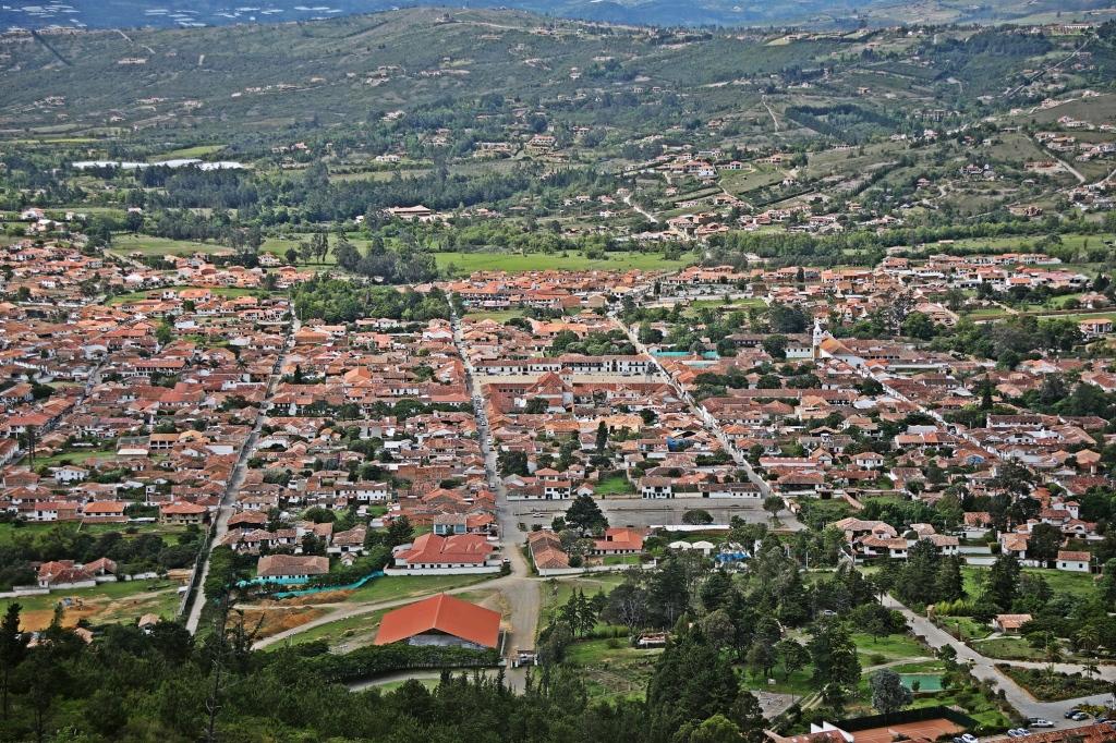 Villa de Leyva from Mirador