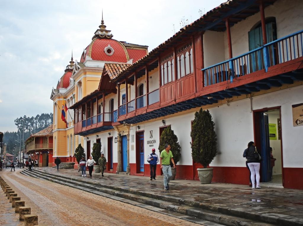 Parque Principal, Zipaqura