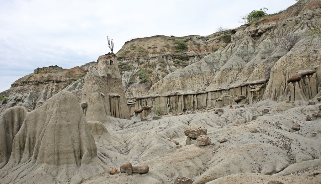 Interesting formations, Los Hoyos, Tatacoa Desert