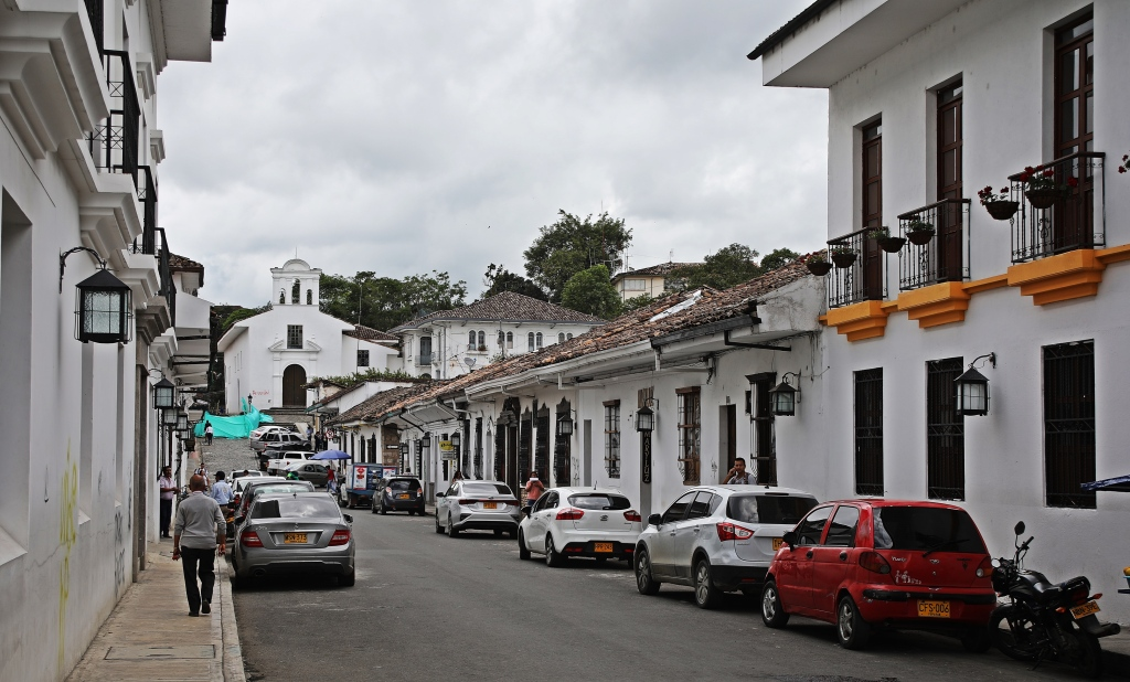 White City with Ermita de Jesús de Nazareno , Popayan
