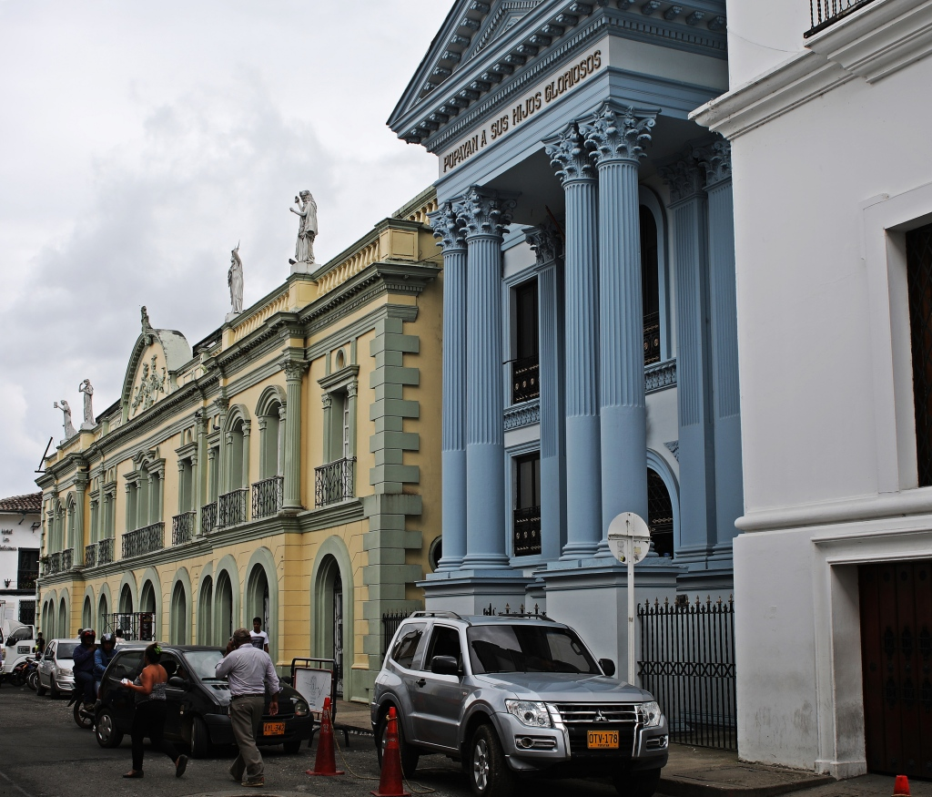 Colonial buildings, Popayan
