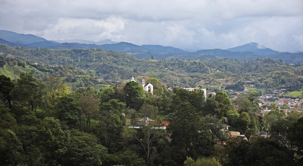 Countryside around Popayan