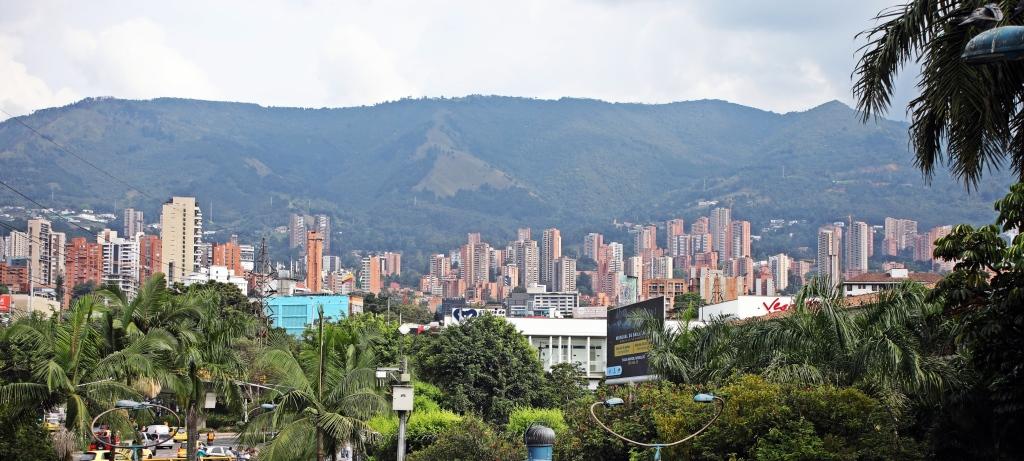 Medellin skyline