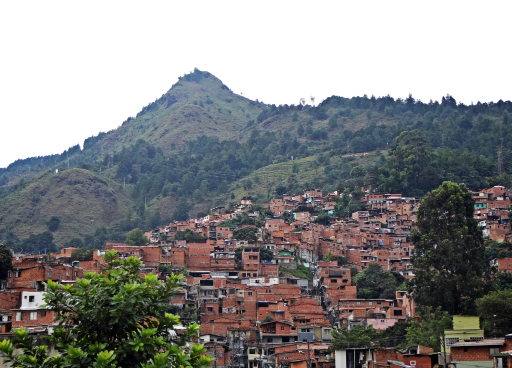 La Sierra neighbourhood in Medellin