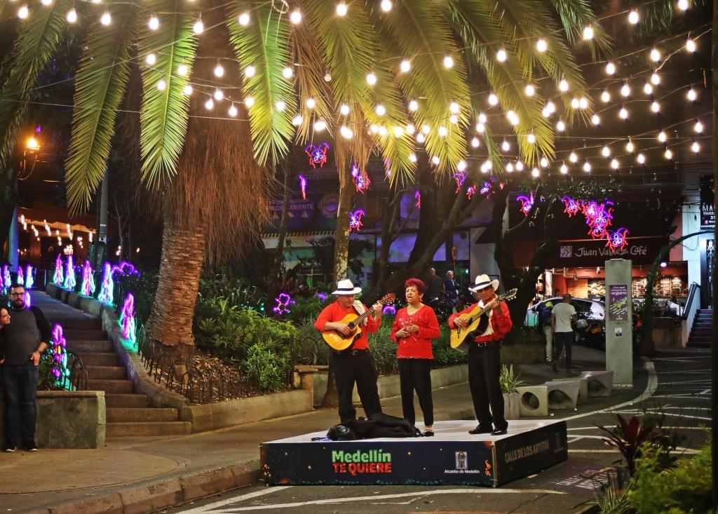 Mariachi band, Poblado, Medellin
