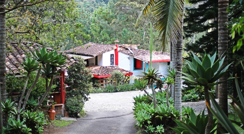 Our Finca hotel near the Medellin airport
