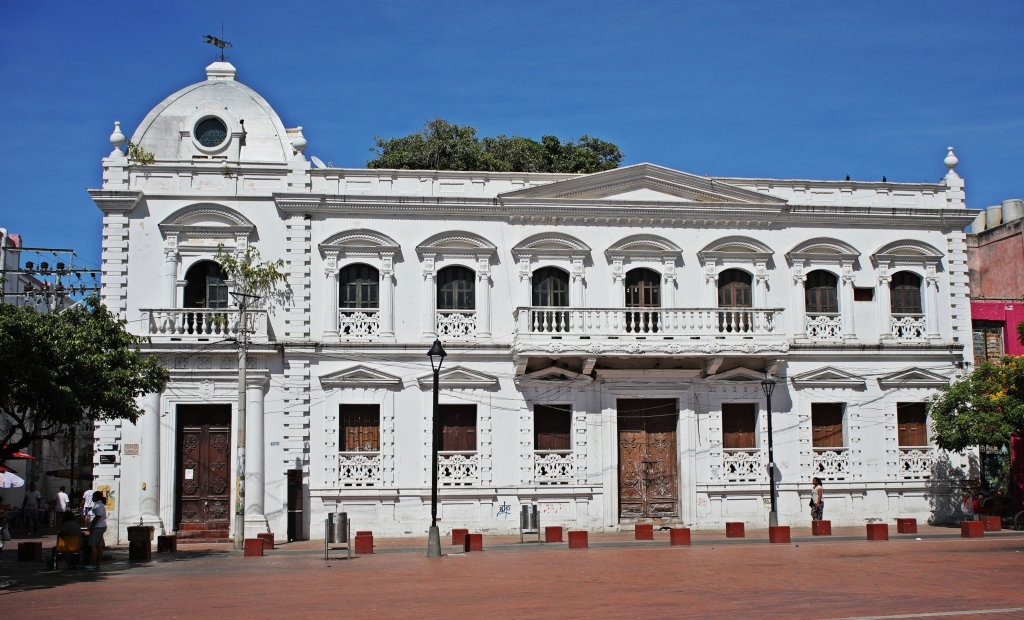 Colonial buildings, Santa Marta