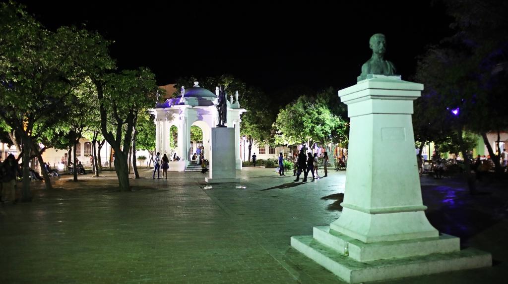 Parque de Los Novios, Santa Marta