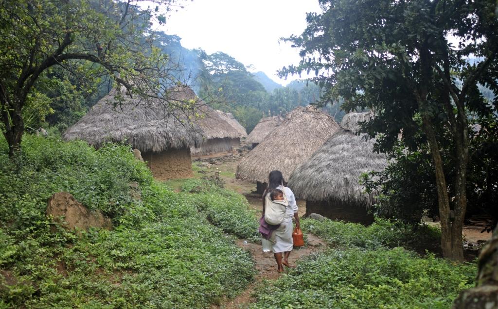 Indigenous village, Cuidad Perdida Trek
