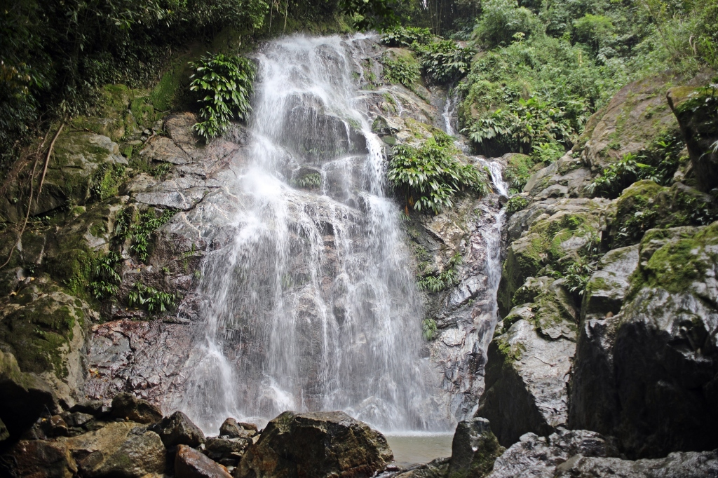 Marinka upper waterfall, Minca