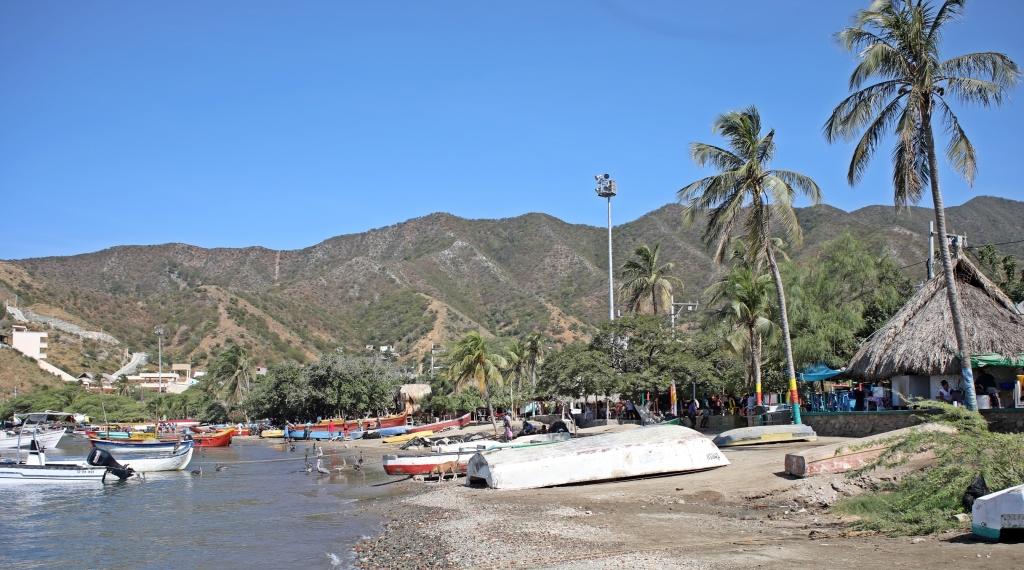 Taganga harbour