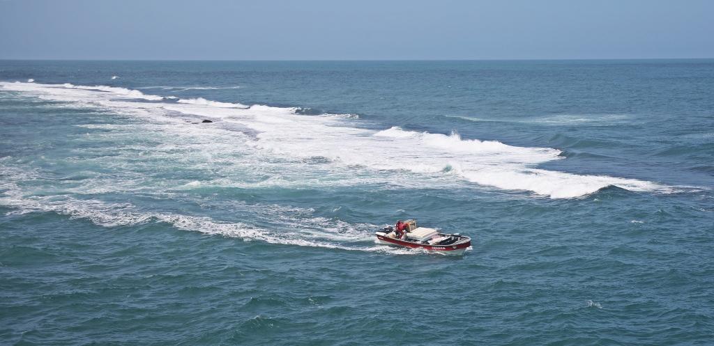 Speed boat, Tayrona Park