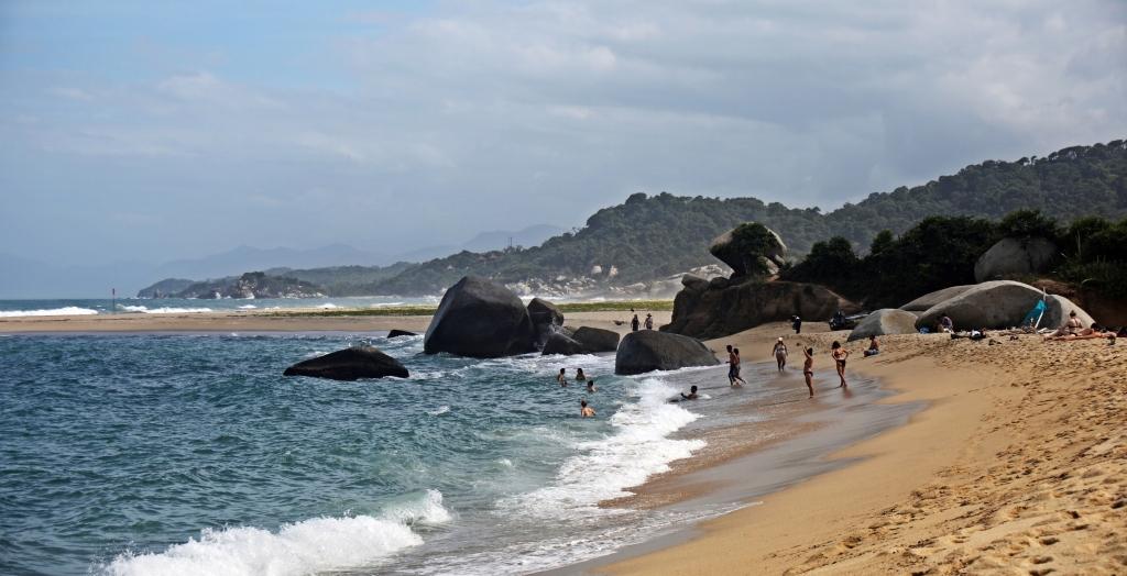 Playa La Piscina, Tayrona Park