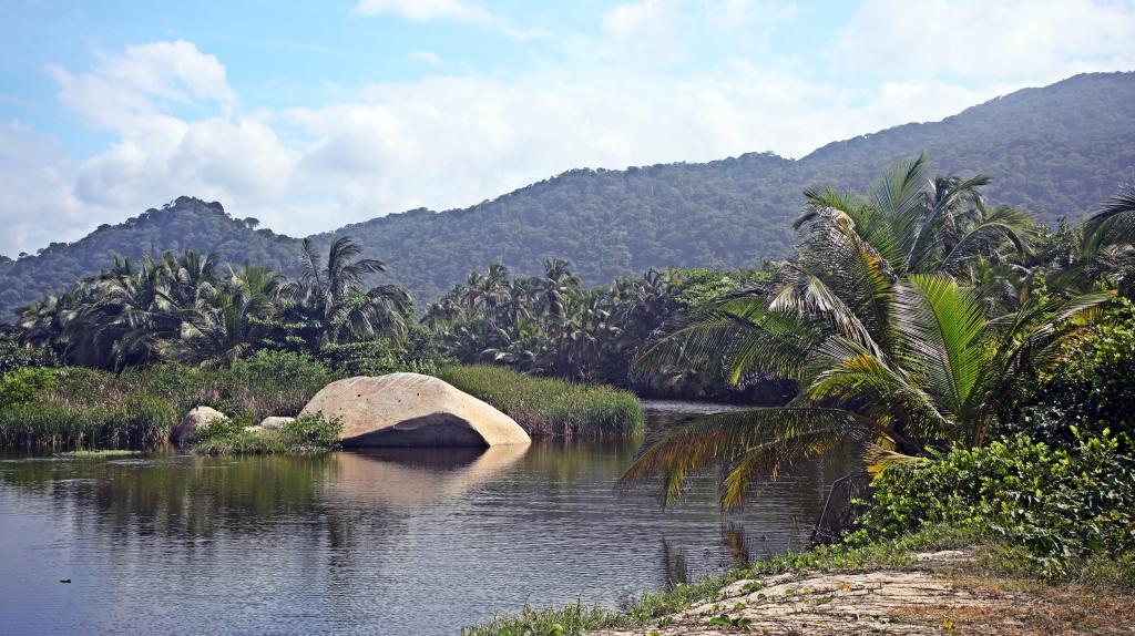 Lagoon, Tayrona Park