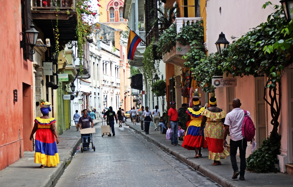 Palenquera women, Cartagena