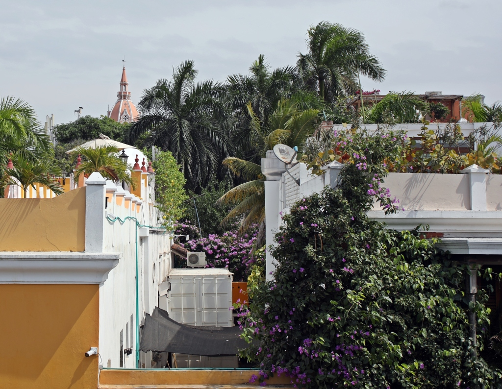 View from the wall, Cartagena