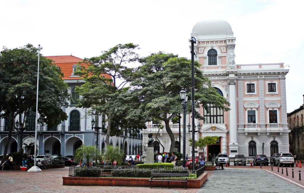 Plaza de la Catedral , Viejo, Panama