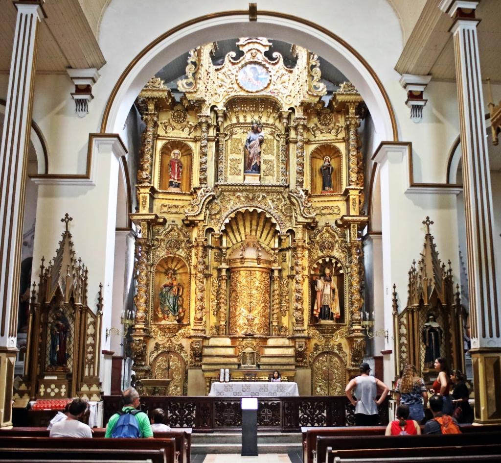 Iglesia de San Jose, Casco Viejo, Panama