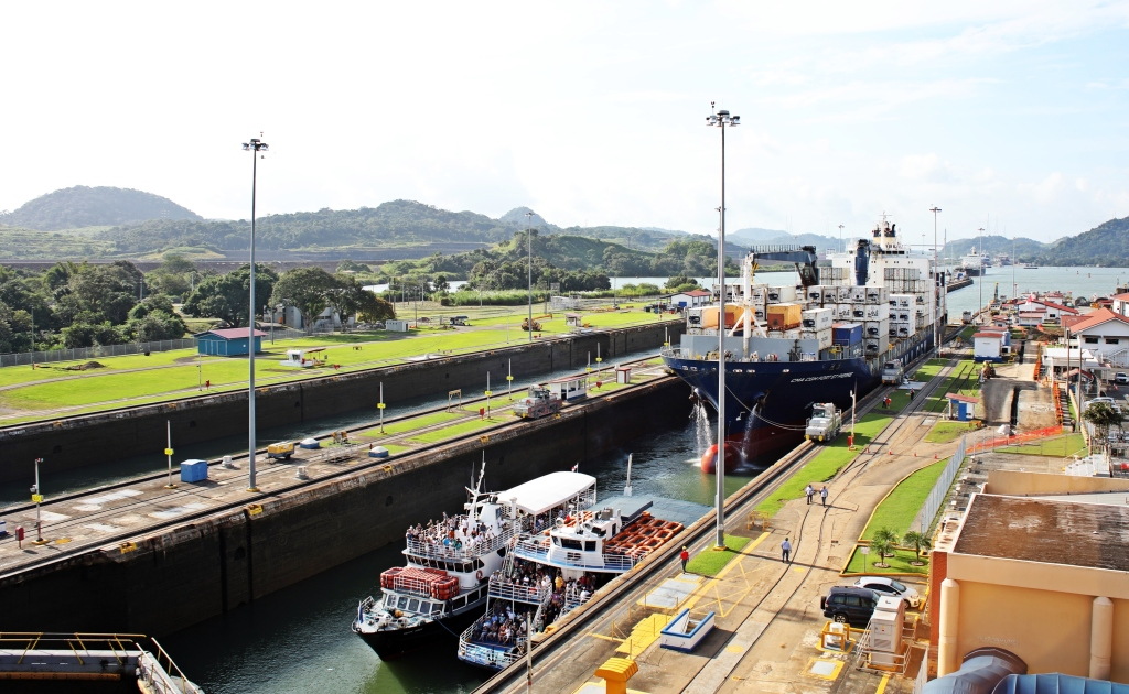 Water level decreasing, Panama Canal