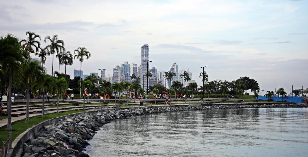 Panama City at high tide