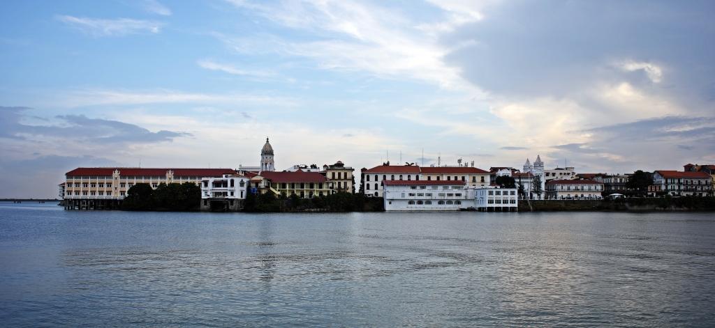 Casco Viejo at high tide, Panama