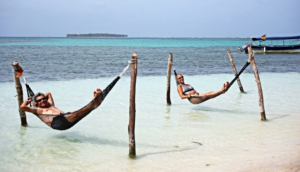 Relaxing on Yani Island, San Blas