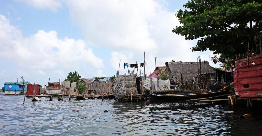 Guna Yala village, San Blas