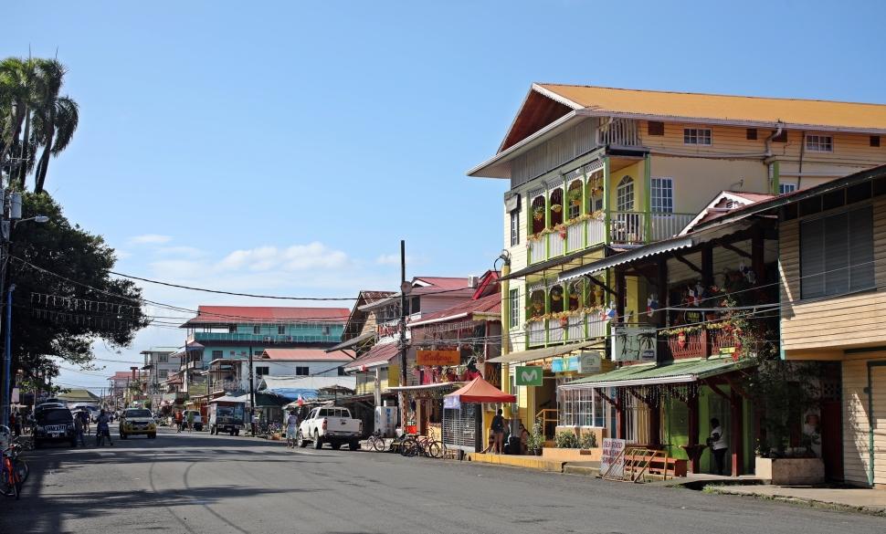Bocas del Toro, Colon Island
