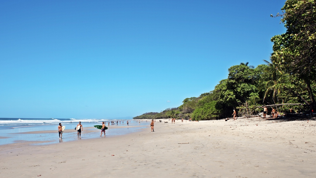 Surfers, Santa Teresa Beach