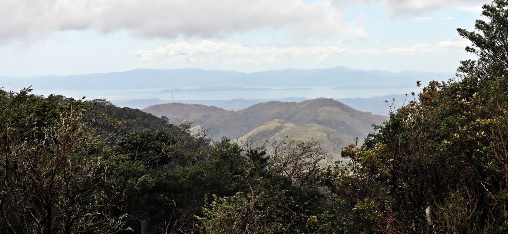 View of Pacific coast from Santa Elena