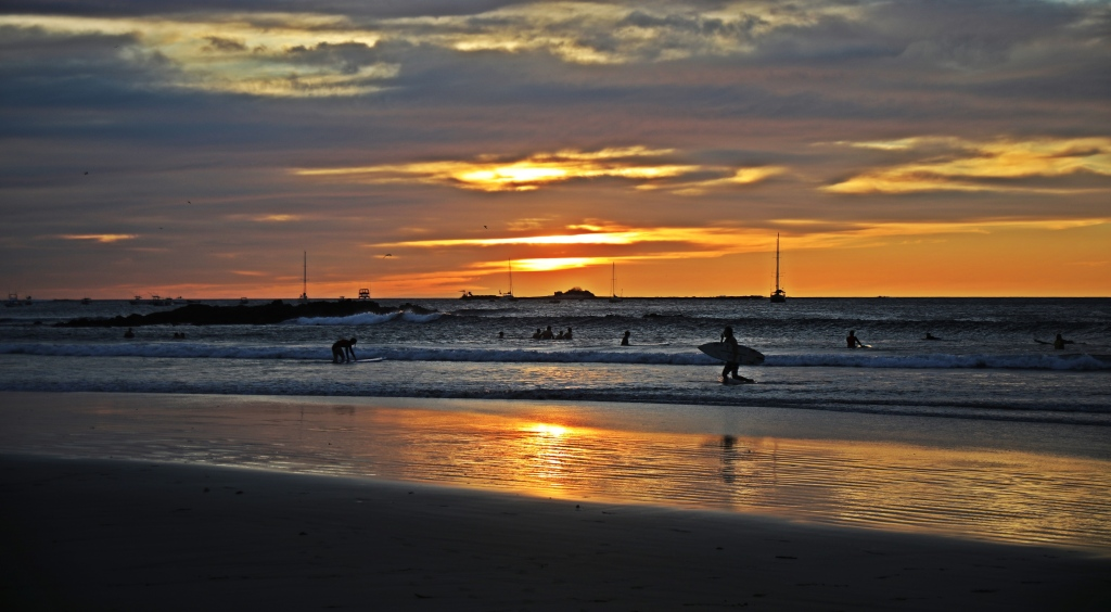 Sunset, Tamarindo Beach