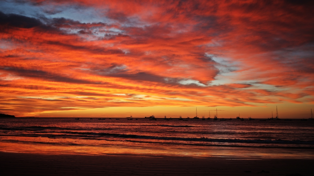 Sunset, Tamarindo Beach