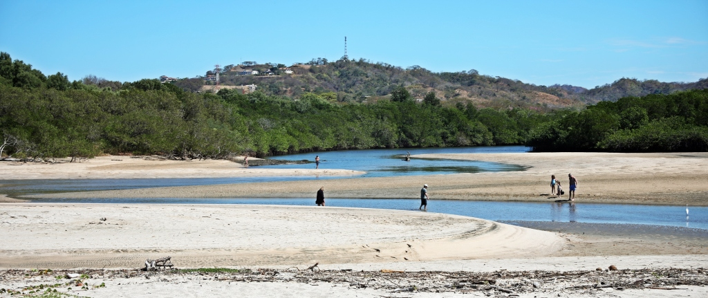 Low tide at the lagoon, Parque Nacional Marino Las Baulas