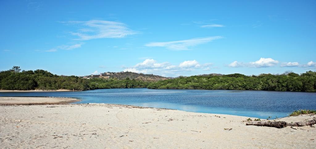 High tide at the lagoon, Parque Nacional Marino Las Baulas
