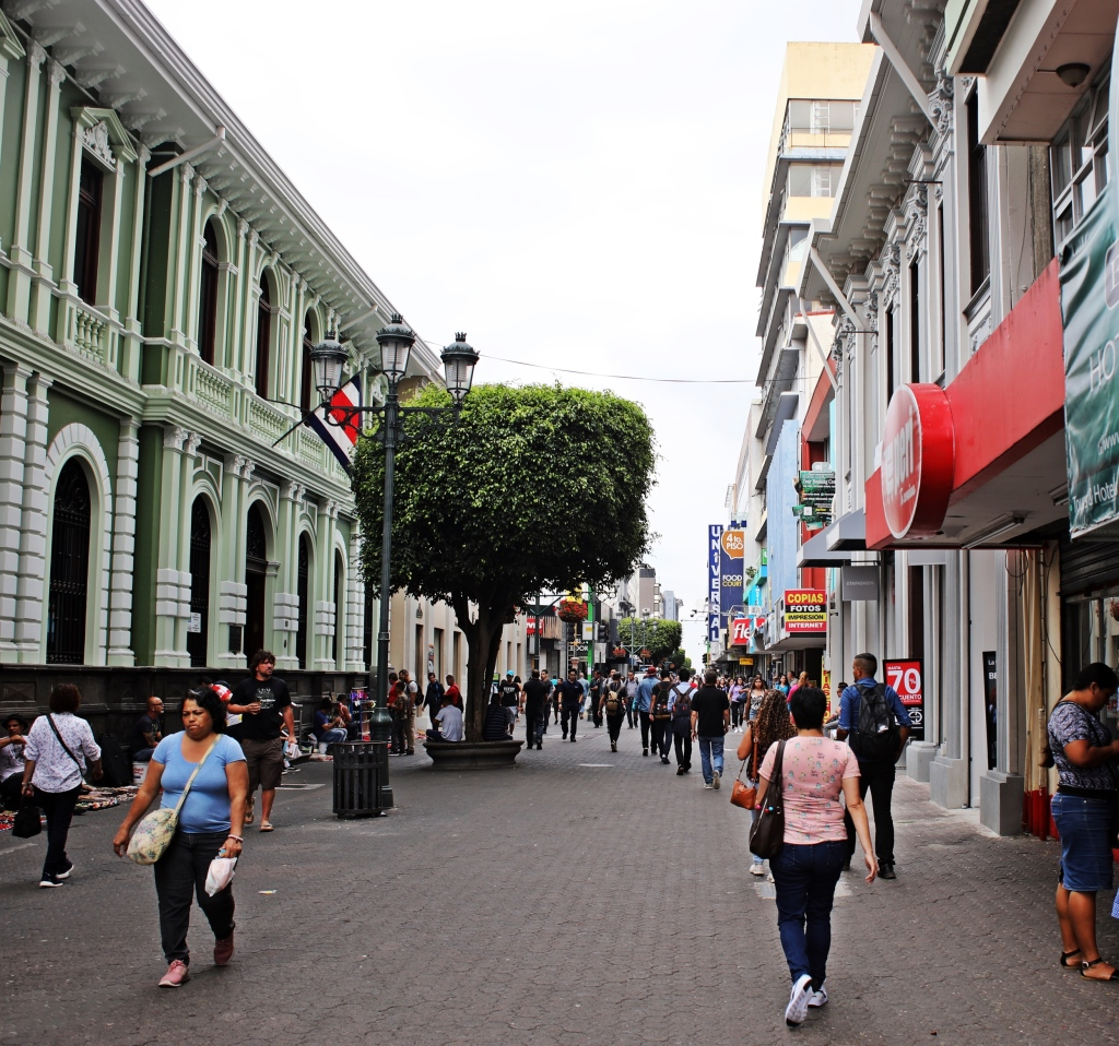 Avenida Central Pedestrian Mall, San Jose
