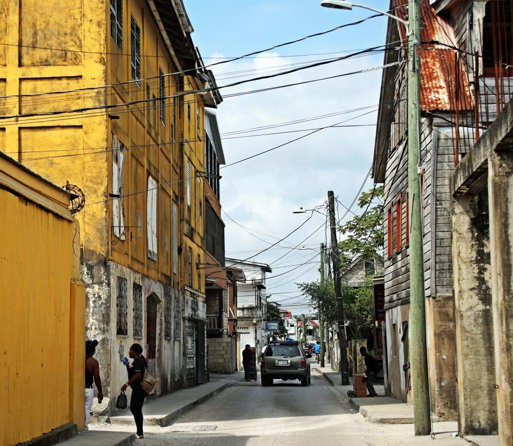 Rough neighbourhoood, Belize City