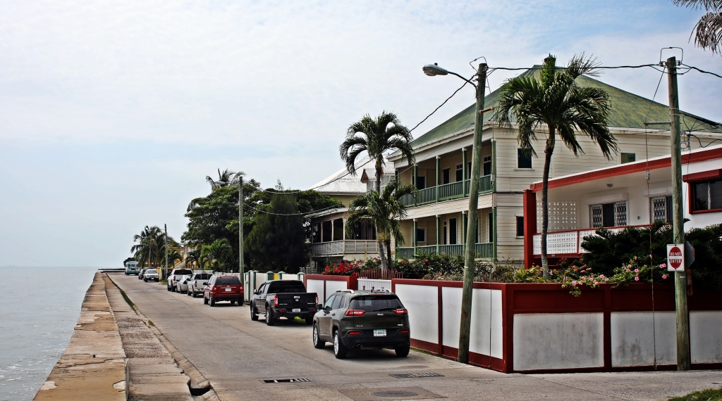 Colonial homes, Belize City
