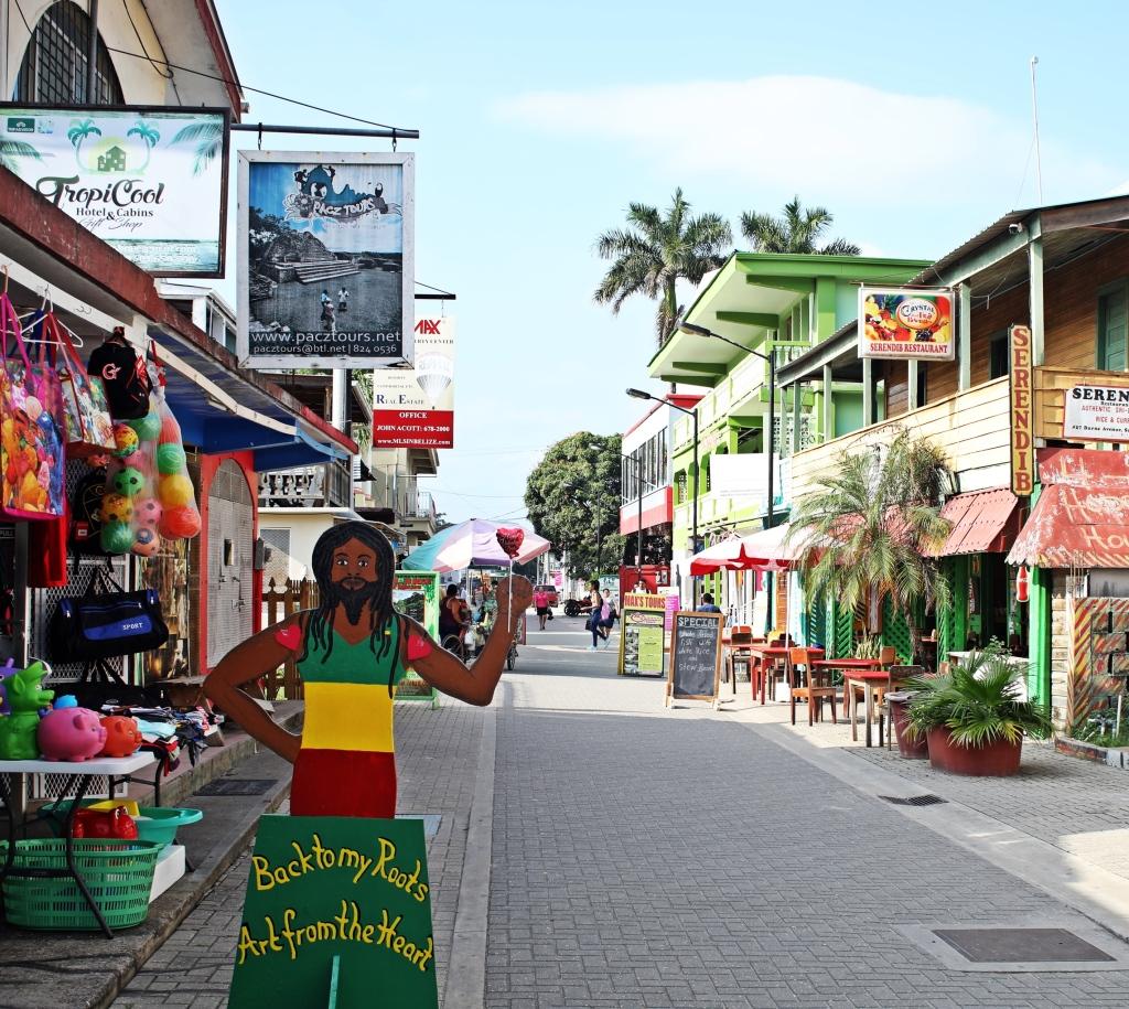 Pedestrian Mall, San Ignacio