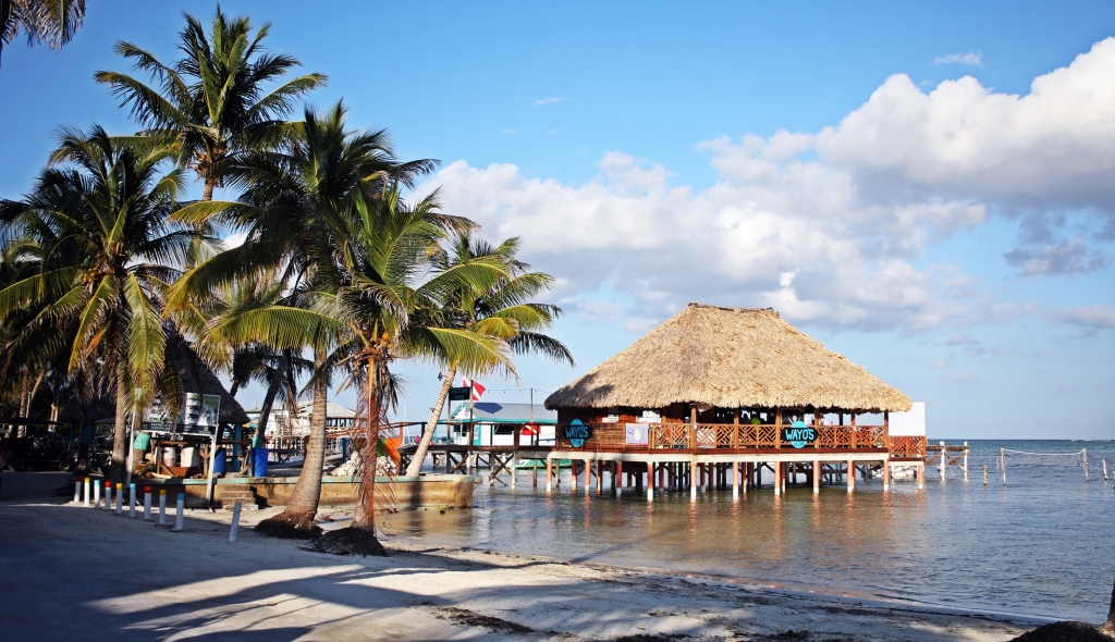 Piers, Ambergris Caye