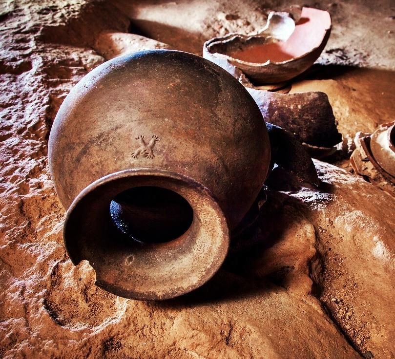 Maya Monkey Pot, ATM cave, courtesy Maya Walk Tours