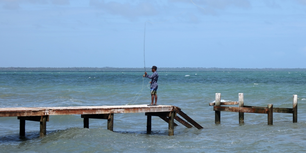 Fisherman, Hopkins, Belize
