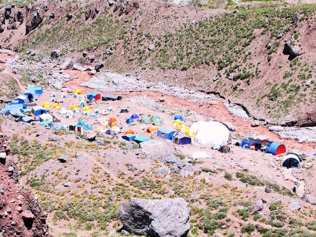 Confluencia Camp, Aconcagua climb