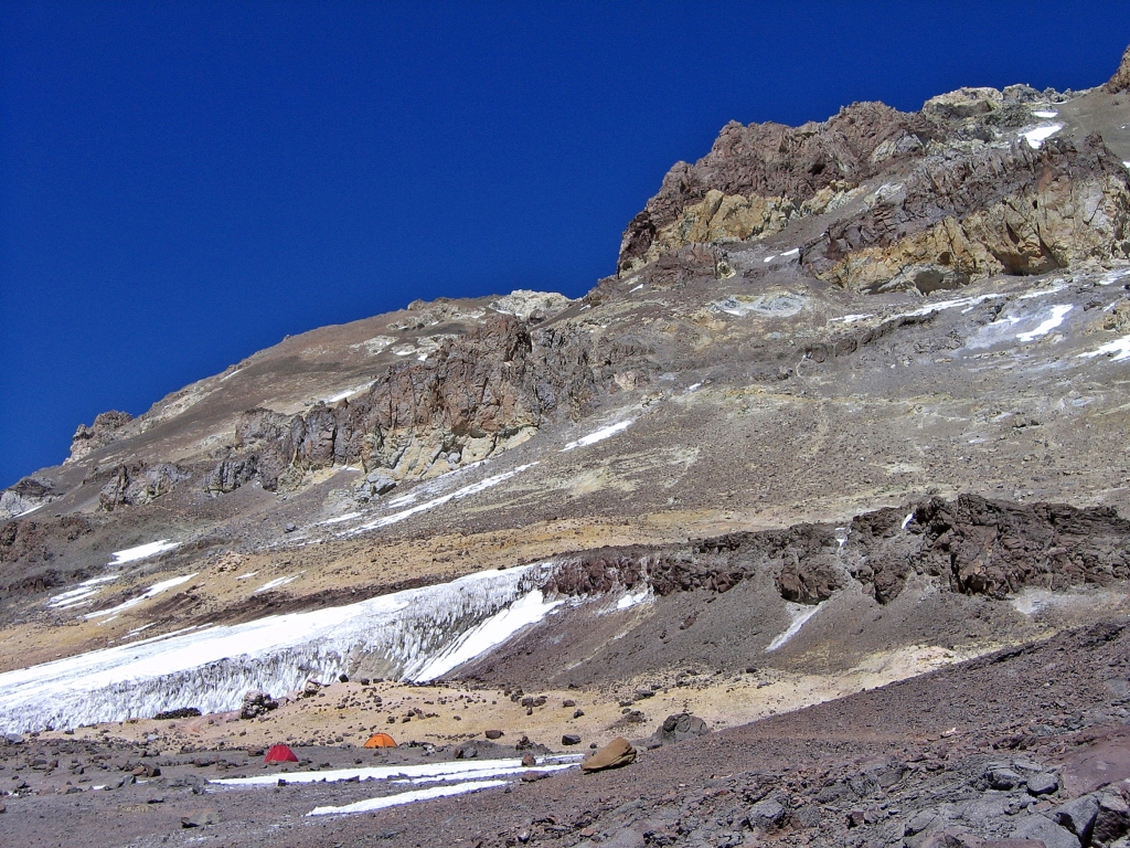 View from Nido de Condores, Aconcagua