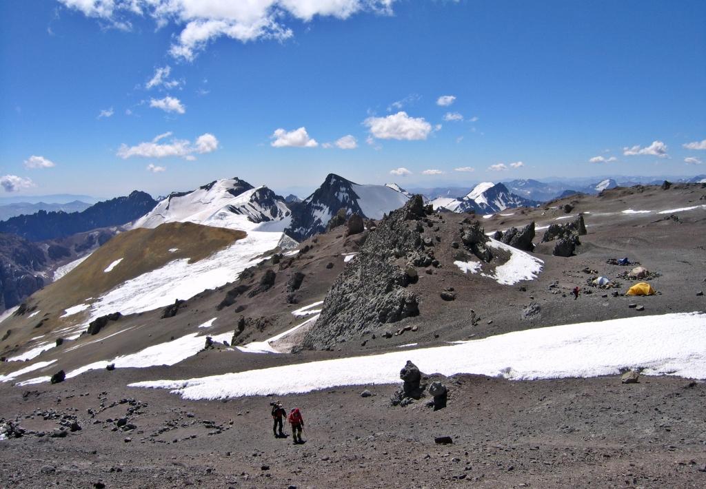 Nido de Condores, Aconcagua