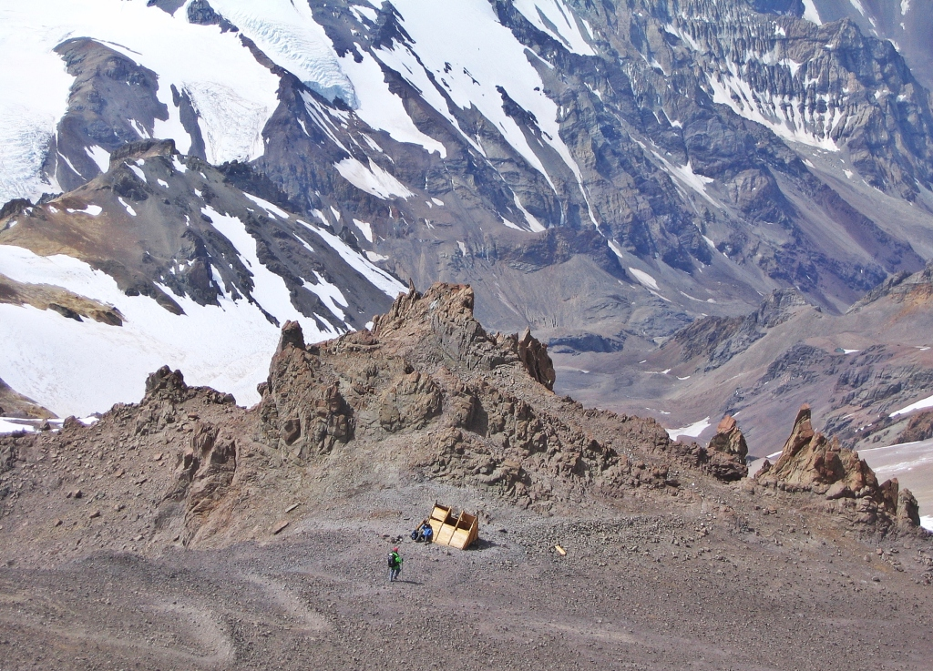 Independencia Refuge, Aconcagua