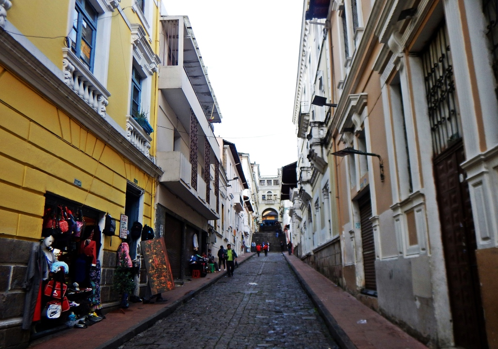 Colonial buildings, Quito