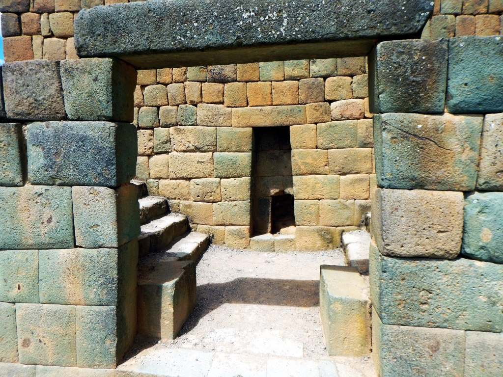 Typical doorway, Ingapirca