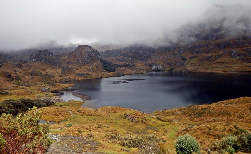 Mountain tarn, El Cajas, Ecuador