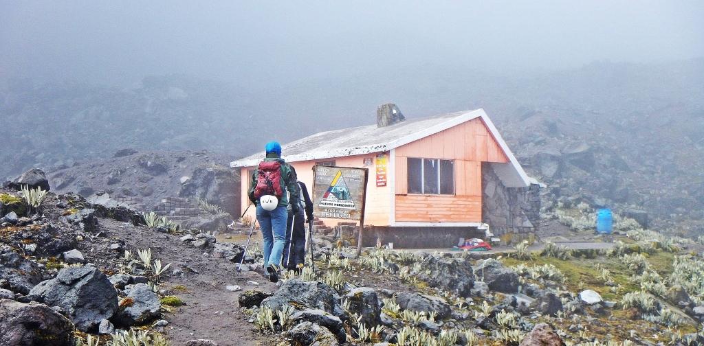 Refugio Nuevos Horizontes, Illiniza Norte, Ecuador